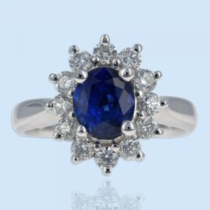 Color Stone Fashion Rings